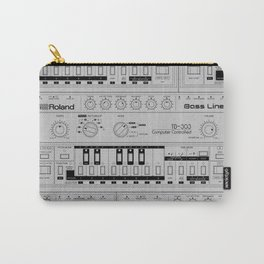 Roland TB-303 Bass Line Wireframe Carry-All Pouch