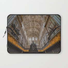 Choir in the Mosque–Cathedral of Córdoba Laptop Sleeve