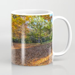 An English Autumn Coffee Mug