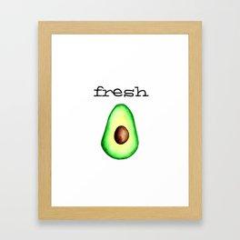 Fresh Avocado fr e sh a voca do Gerahmter Kunstdruck