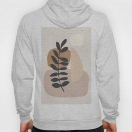 Abstract Art /Minimal Plant 6 Hoody