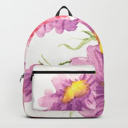 Pink and Purple Cosmos Backpack