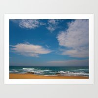 South African Beaches Art Print