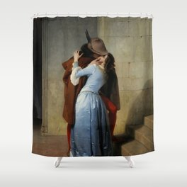 Francesco Hayez - The Kiss Shower Curtain