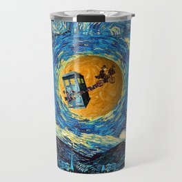 Doctor Who 4th at starrynight Travel Mug