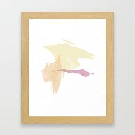Fall Watercolor Framed Art Print