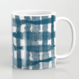Tie Dye no. 4 Indigo Stripes  Coffee Mug