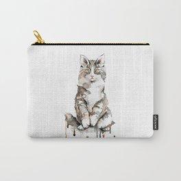 Fluffy Kitten Carry-All Pouch