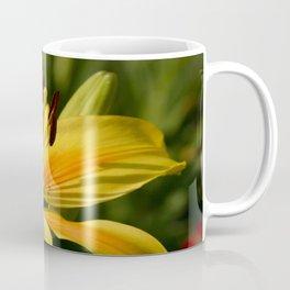 Beautiful Yellow Lily Coffee Mug