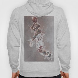 basketball player art Hoody