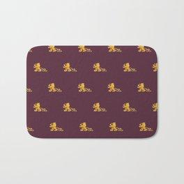 Royal Gryphons in Purple Bath Mat