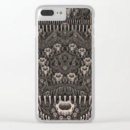 Art Machine Clear iPhone Case