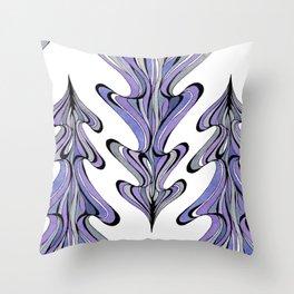 Flow Tree Throw Pillow