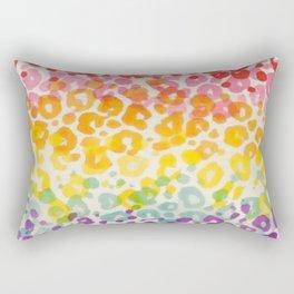 Colorful Animals Rectangular Pillow