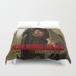 Set gift the walking dead DARYL dixon Duvet Cover