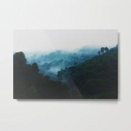 Cloudy Days Metal Print
