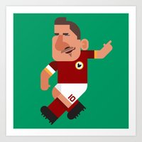 FT10 Mini | Giallorossi Art Print