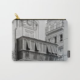 Roman city balcony Carry-All Pouch