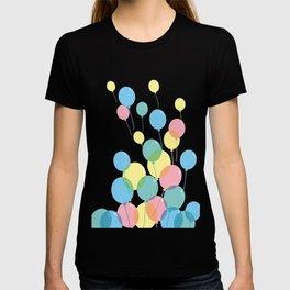 Colorful balloons T-shirt