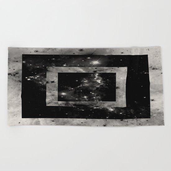 Opposite Space Beach Towel