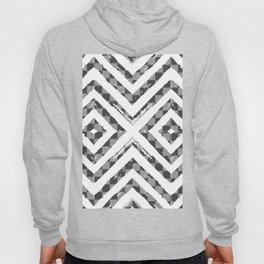 Grey Checkered Paattern Hoody