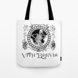 Vita Brevis Tote Bag