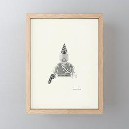 The Mad Man Framed Mini Art Print