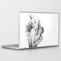 burlesque Laptop & iPad Skins featuring Burlesque by Zema