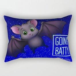 GOING BATTY Rectangular Pillow