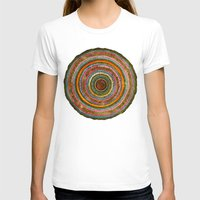 tree rings T-shirts featuring tree rings by Asja Boros