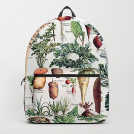 Adolphe Millot - Légumes pour tous - French vintage poster Backpack