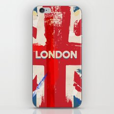 Vintage London Union Poster iPhone & iPod Skin