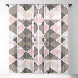 colour + pattern 6 Sheer Curtain