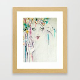 Sugar & Ice Framed Art Print
