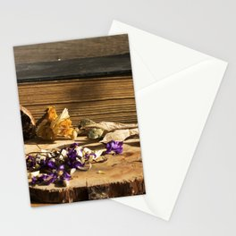 dry flowers and plants Stationery Cards
