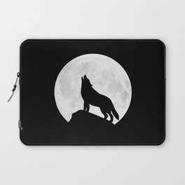 Howling Wolf - Moon Laptop Sleeve