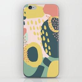 Hide and seek #vectorart #graphic #pattern #joy iPhone Skin