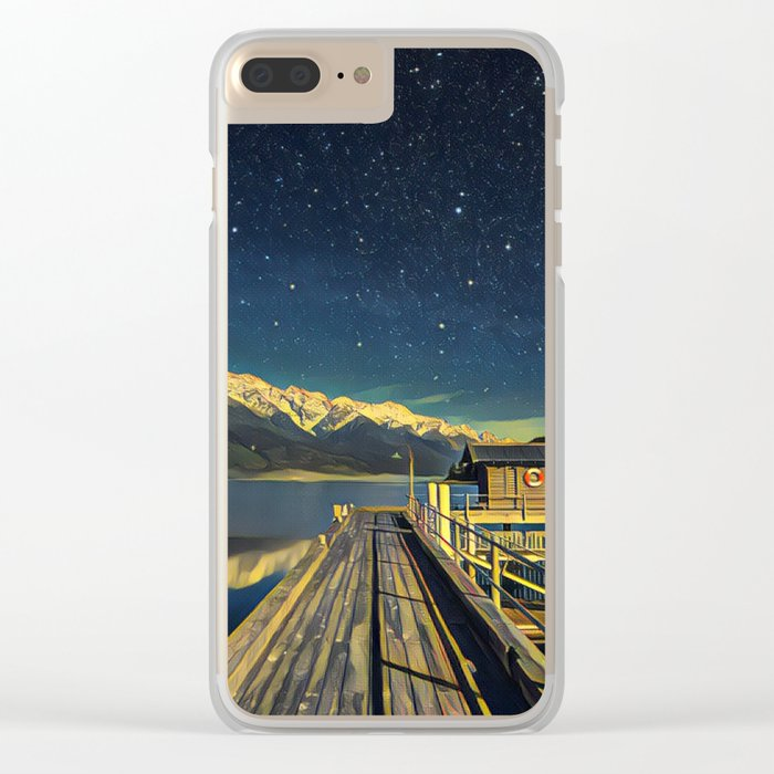 Lake View 2 Clear iPhone Case