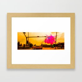 Always Watching Framed Art Print