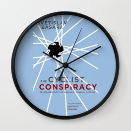 The Cyclist Conspiracy Wall Clock