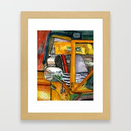 Show Thing Up Close Framed Art Print