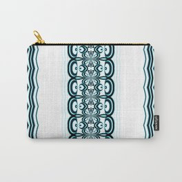 Blueby Chic Light Elegance Pattern Carry-All Pouch