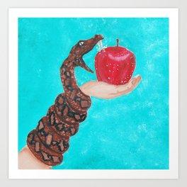 Adam and Eve 1 Art Print
