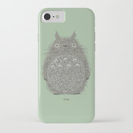Green Totoro iPhone Case