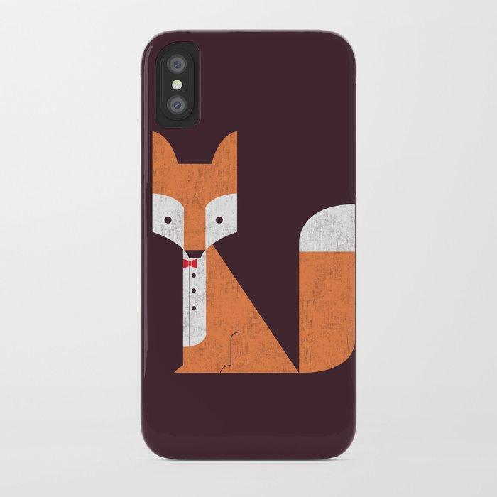 Le Sly Fox iPhone Case