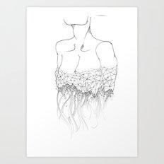 Material Change sketch Art Print