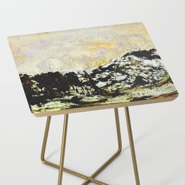 Golden mountains Side Table