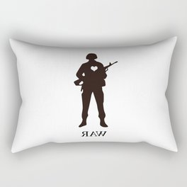 Raw Love Rectangular Pillow