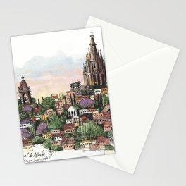 Sunset over San Miguel de Allende Stationery Cards