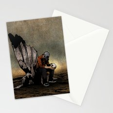 The Angel And The Skull Stationery Cards